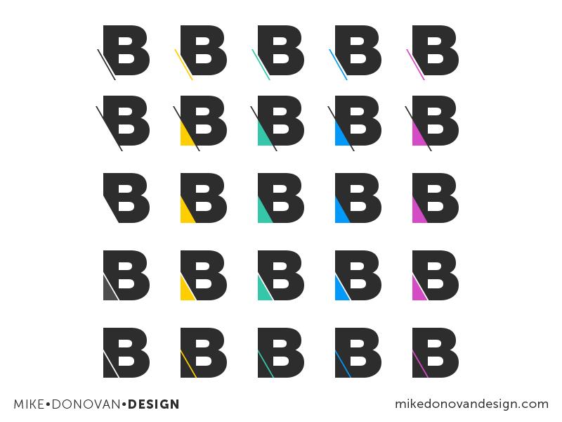 Feedback? Logo Iterations (WIP) blend b branding logo vector photoshop