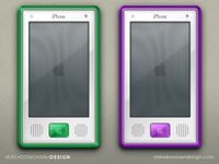 Throwback iPhone G3 Color Concepts (More)