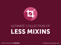 Ultimate Collection of Less Mixins Freebie (Updated)