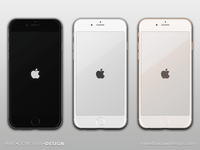 Freebie PSD: iPhone 6 Vector Mockups