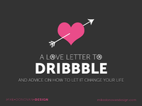 Slide dribbble love