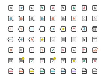 Activity & Indicator Icons