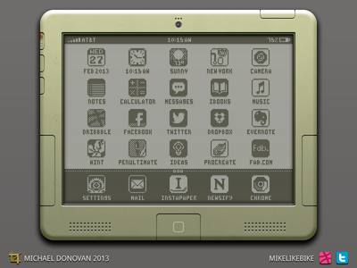 iPad Legacy Design UI