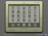 iPad Legacy Design UI