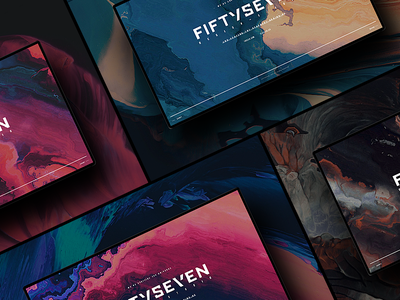 FiftySeven® — Bg Exploration pixijs exploration background color webgl ux ui studio fiftyseven design