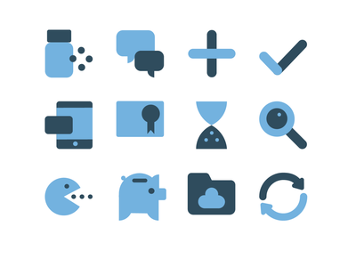 Icons for Salusplay