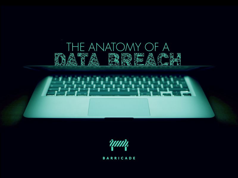The Anatomy of a Data Breach [Infographic] by Jack Leonard - Dribbble