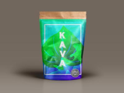 Packaging for a Hawaiian Kava Company