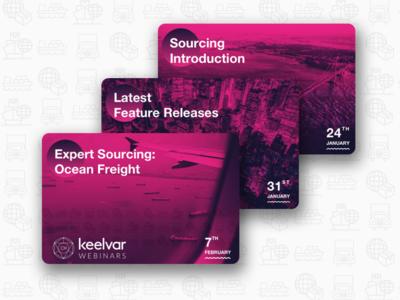 Webinar Cards for Keelvar