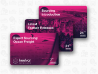 Webinar Cards for Keelvar