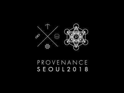 PROVENANCE SEOUL Iconograph geometry sacred geometry branding iconograph