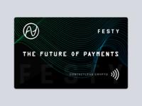 Contactless Crypto Card Design