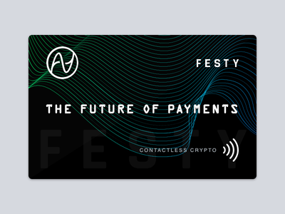 Contactless Crypto Card Design credit card card contactless cryptocurrency