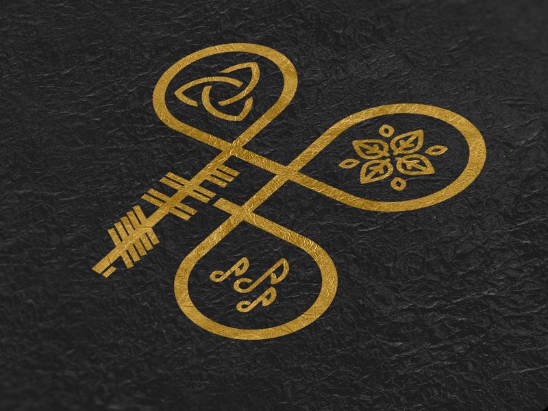 Boolesproof Venue Identity Design celtic ogham design identity irish venue bar logo