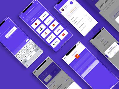 Peer-to-Peer Payment App payment fintech designs uxdesign uiux design ux ui