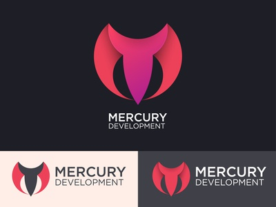 Logo concept for Mercury Development