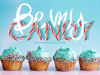Be My Candy - OTF Color Font