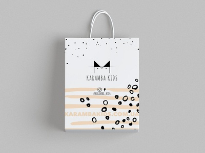 Packaging design for Karamba Kids. Ukrainian baby clothes brand