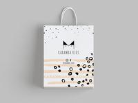 Packaging design for Karamba Kids. Ukrainian baby clothes brand