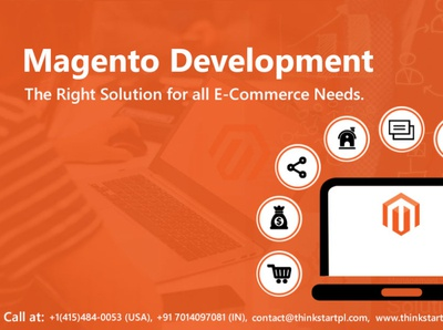 Magento Development Services at ThinkStart Pvt Ltd. ecommerce website development ecommerce website design uxui ui usa web development company web development agency website designer magento templates magento magento 2 magento developer android app design website design company design website development landing page design website design web design
