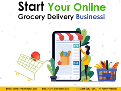 Online Grocery Delivery App Solution! website design web design ui web application application grocery app growth on demand solution on demand app ecommerce app landing page android app design ios app development android app development company mobile app development company grocery online grocery app