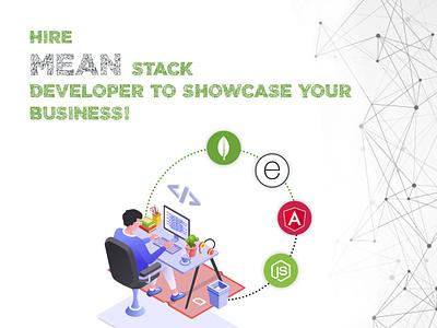 Hire MEAN Stack Development Company coder web app web application programming programmer node.js angularjs javascript developer development