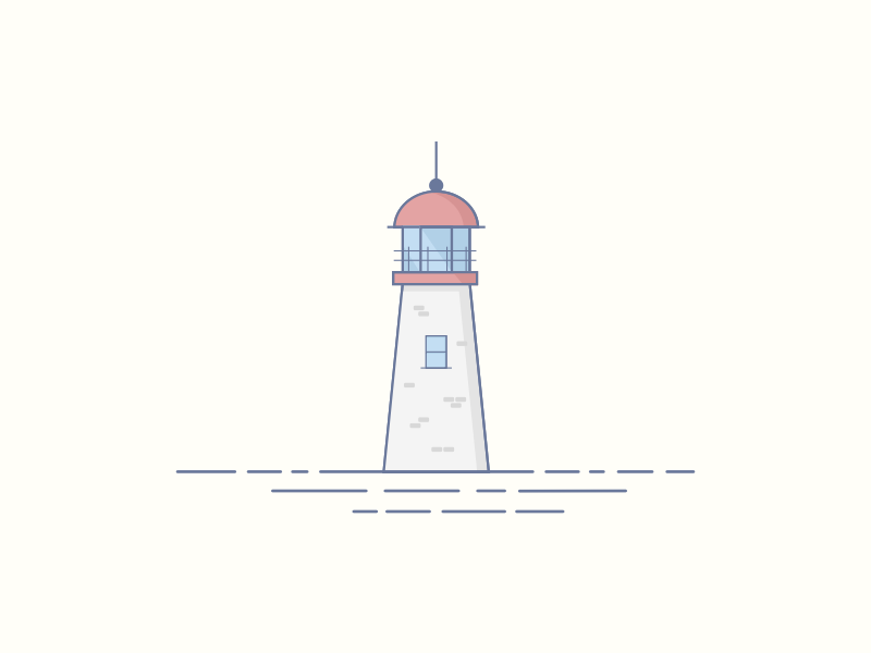 Lighthouse halifax ocean water lighthouse illustration sketch