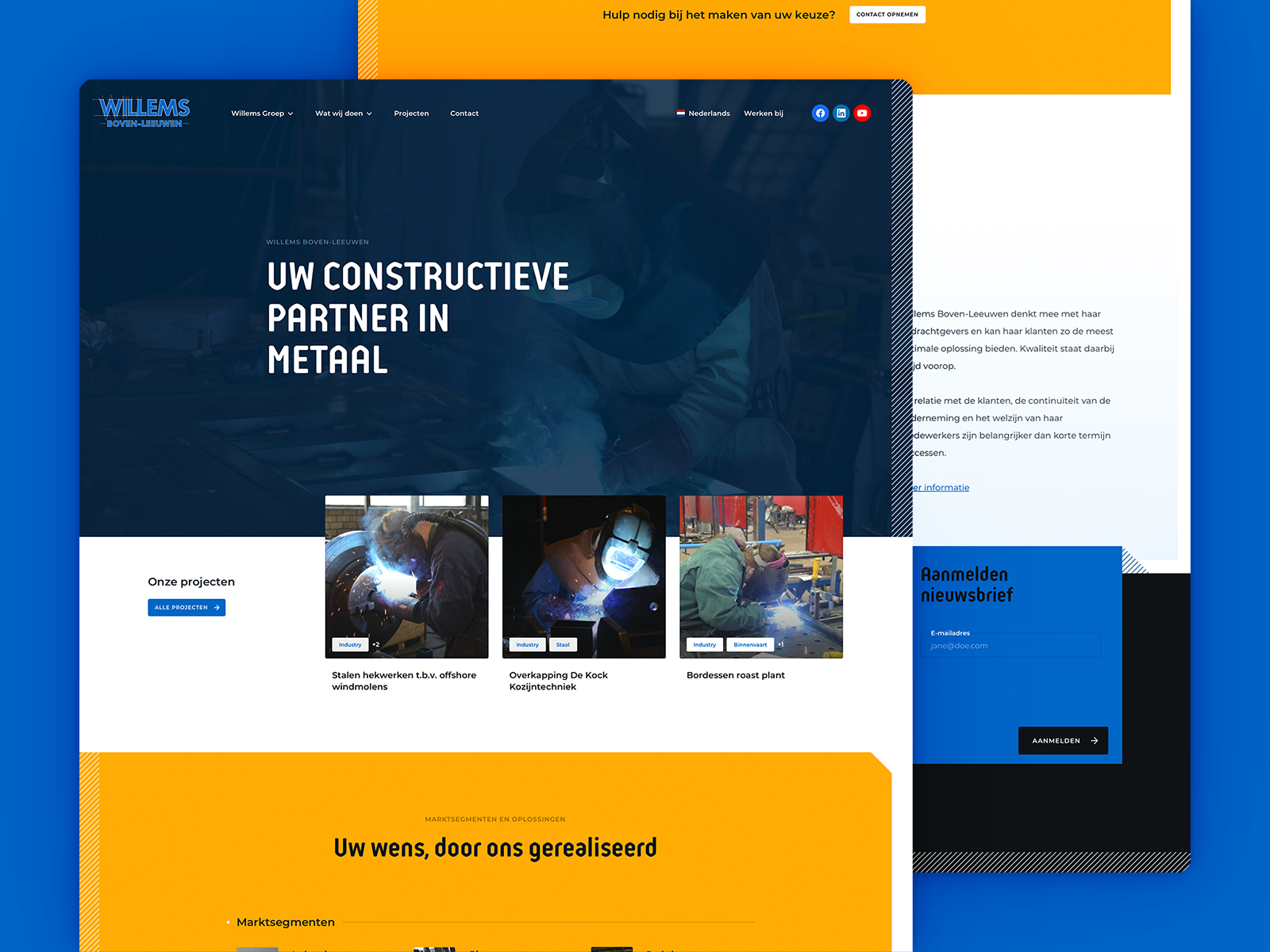 Construction Company - Homepage