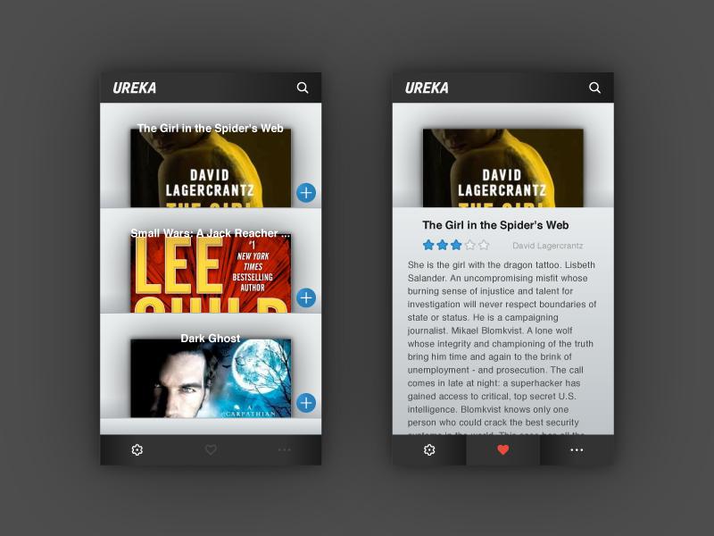 Ureka App Design interface user interface ui design ui illustrator design application aplication app