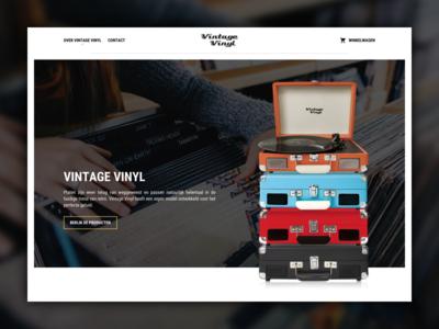 Vintage Vinyl - Webshop
