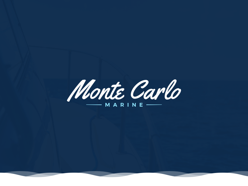 Monte Carlo Mini Styleguide branding brand styleguide design logo yachts boats ships