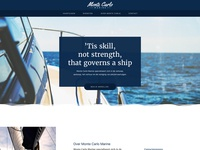 Montecarlo Homepage - WIP