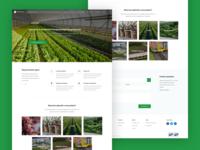 Agro Company Website