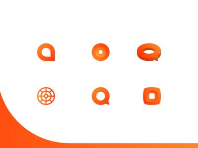 Educational Logo Concepts vector icon educational education branding logo mark illustration design