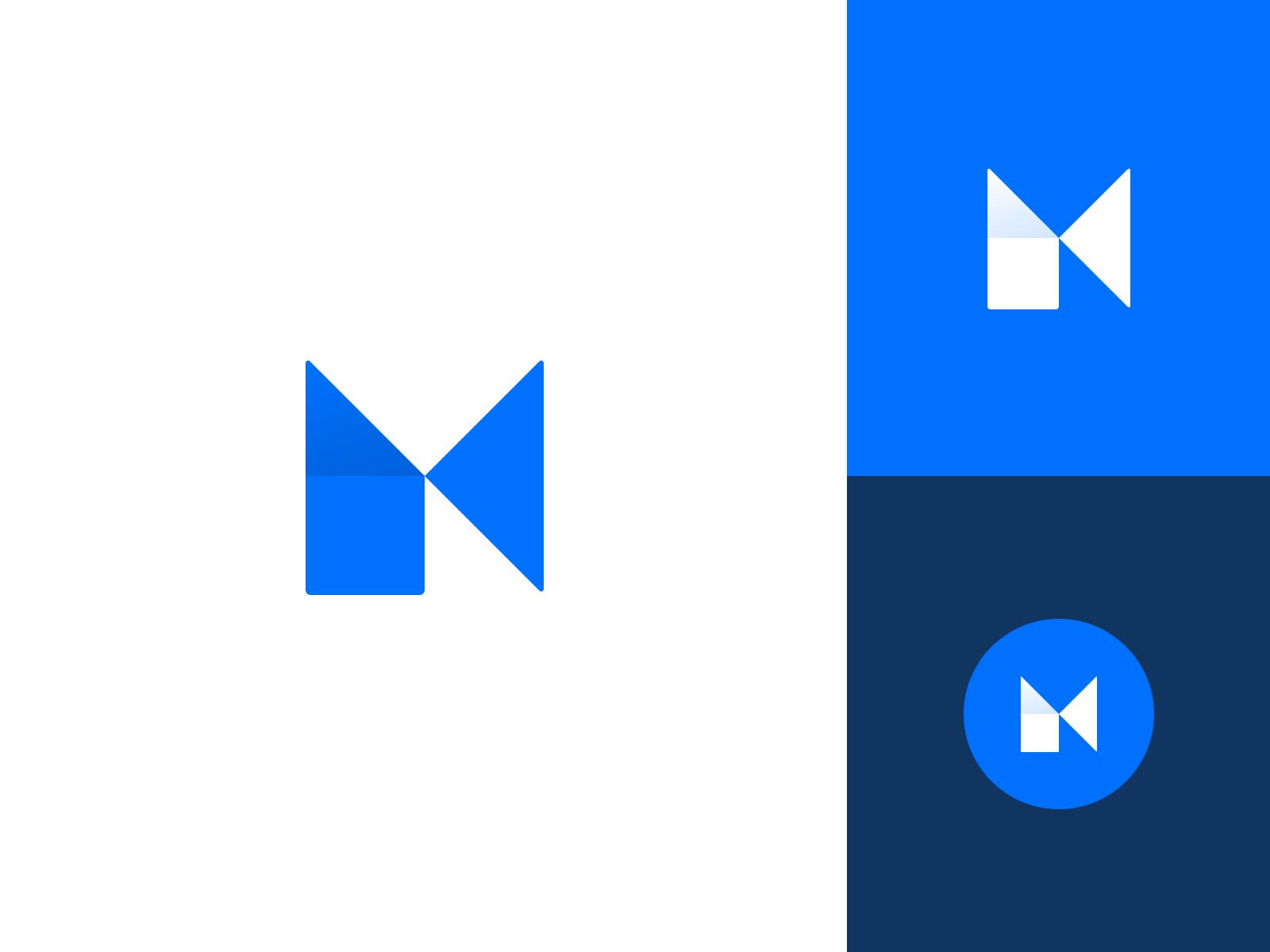 Matt Blades Logo clean illustration branding vector icon typography mark logo design