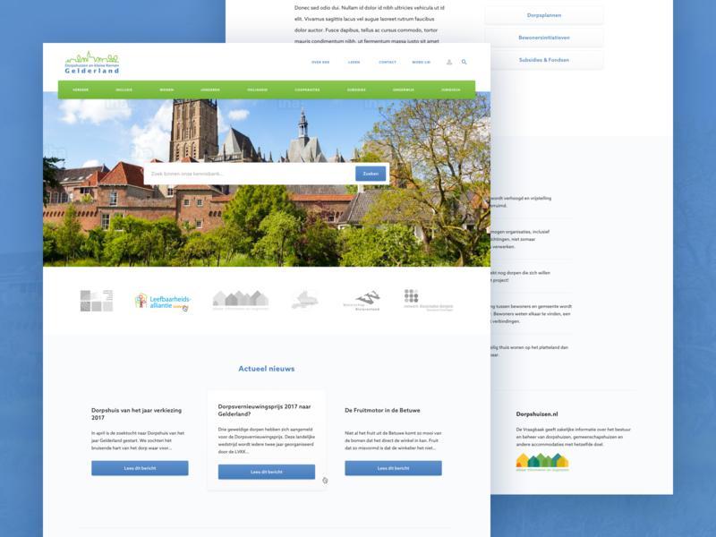 Entrepreneurial association website entrepreneurs membership member design web clean homepage ux ui layout webdesign website
