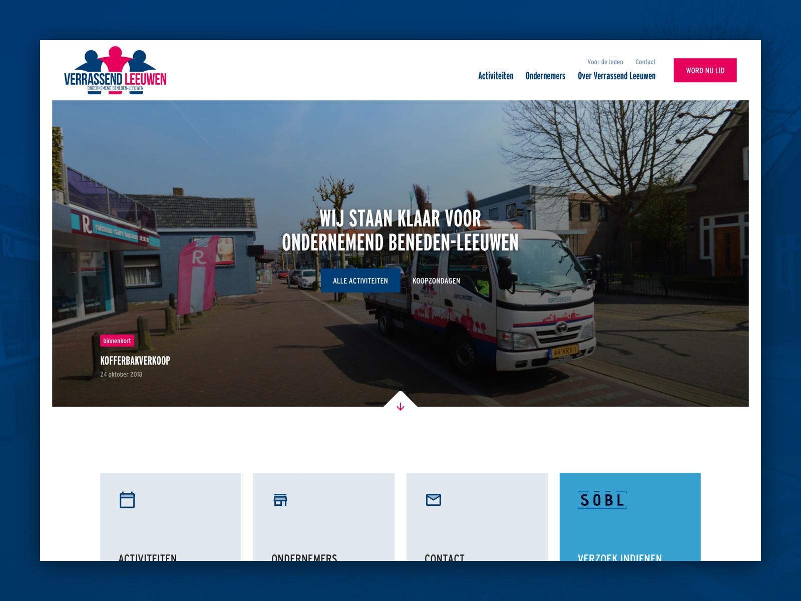 Business Community Website (concept)
