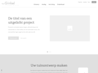 Landscaping homepage wireframe 2x