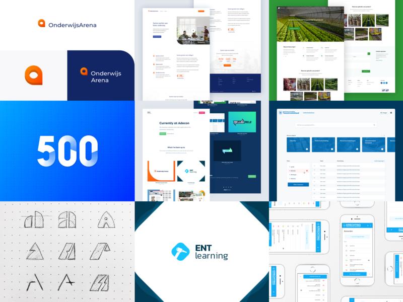 Best Nine - 2018 homepage typography ux ui webdesign layout mark logo best nine best 9 website design