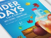 Cider Days | Print Design