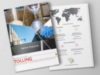 Marketing Brochure Front and Back Covers
