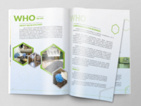 Marketing Brochure Layout Design