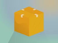Moving Box Illustration