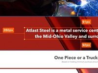 Atlas Steel & Supply Web Design