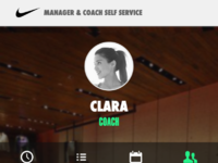 Nike team mobile