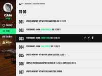Nike Manager Dashboard