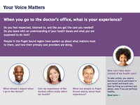 Your Voice Matters landing page