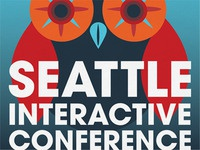 Seattle Interactive Conference poster design