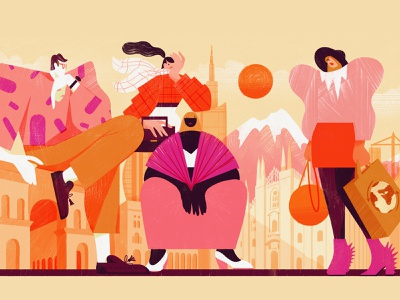 Creatives of Milan's Independent Fashion Scene culture culturetrip fashion illustration italy milano milan fashion editorial colour graphic illustration