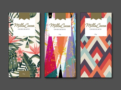 MillaCocoa Chocolate Packaging